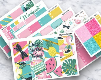 Tropical Escape | Weekly Kit | ECLP | Classic HP