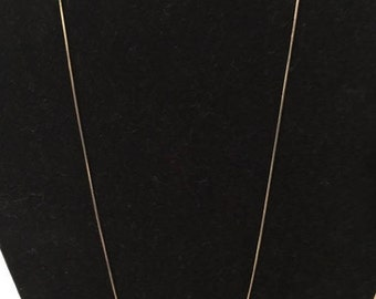 Sterling Silver Snake Necklace