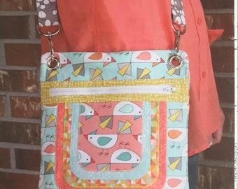 Cassidy Crossover - A Purse pattern by Sassafras Lane Designs