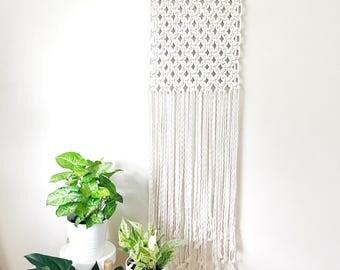Large Macrame Wall Hanging, Woven Wall Hanging, Boho Wall Decor, Weaving Wall Hanging, Modern Macrame, Jungalow Style, Woven Tapestry
