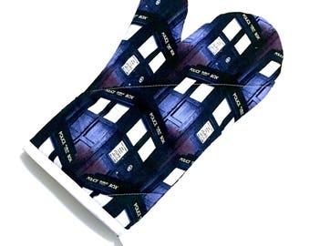 Doctor Who Tardis Oven Mitt