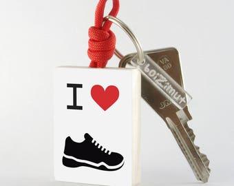 Porte-Clé Sport ''I love Running''