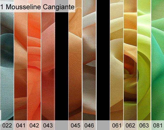 221 Mousseline sample 6 x 10 cm