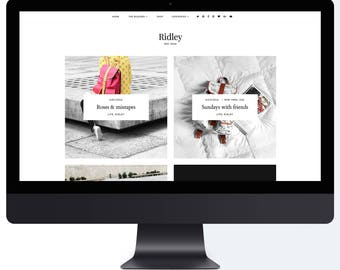 Ridley | Responsive Blogger Template + Free Installation