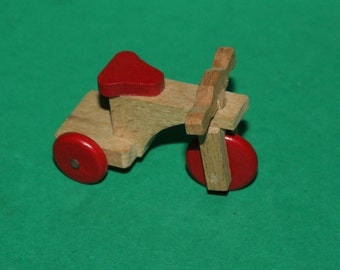 Vintage Dolls House Tricycle Trike