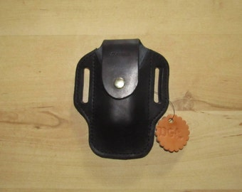 Leather Sheath custom crafted to Leatherman© Wave Sheath, custom Wave Case, Leather case, for your belt, EDC, OWB