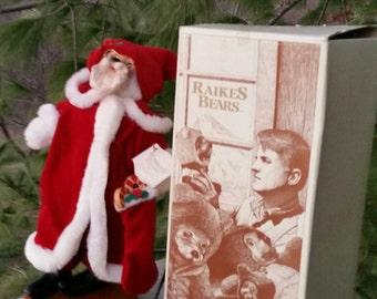 1990 Raikes Santa Bear