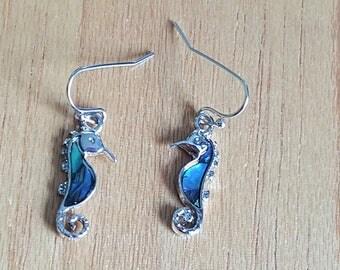 Sea Horse, Seahorse Earrings, Sea Horse Earrings, Beach Earrings, Seahorse Jewelry, Nautical Earrings, Ocean Earrings, Shell Earrings,