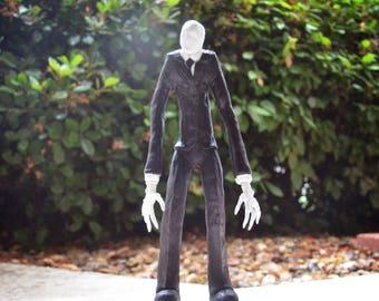 """Slenderman (CreepyPasta) Resin Hand Painted Sculpture 12""""inch OOAK"""
