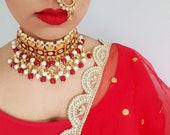 Adjustable Faux Indian Nose Ring with Chain, Indian Nath, Indian Jewelry, Small Nath Nose Ring, Mini Nose Ring, Small Round Nath, Dupatta