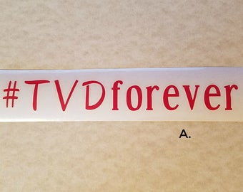 CAR DECAL The Vampire Diaries