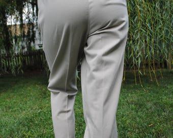 Charmant Vintage Pants, Khakis, Cabin Creek, Mom Pants, High Waist, High Waisted