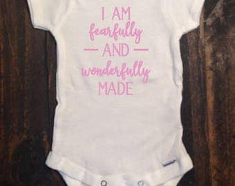 I am Fearfully and Wonderfully Made Oneise