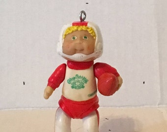 Cabbage Patch Kid in Football Uniform Key Chain