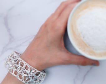 Bangle Bracelet Crystal-effect