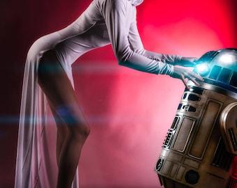 Princess Leia Alderaan Cosplay Dress from Star Wars