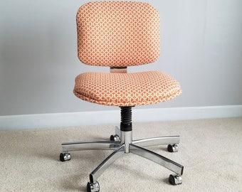 Vintage Office Chair – Swivel Desk Chair