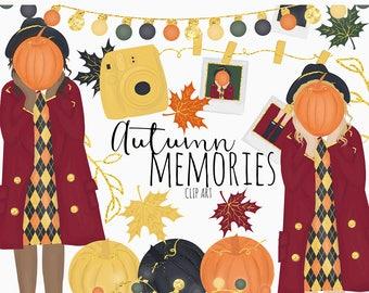 Autumn Memories (Dark Colors) clip art | Digital Art | Argyle