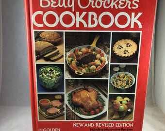 Betty Crocker's Cookbook - Vintage Betty Crocker Cookbook 1978 - 1970s Cookbook - Vintage Kitchen - Recipe Book - Vintage Recipes
