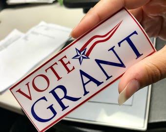 Scandal Sticker, Olivia Pope Sticker, Scandal, Gladiators, It's Handled, Olivia and Fitz, Sticker, Scandal Fan, Vote for Grant