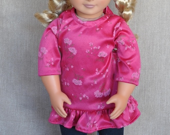 "Tunic and Leggins outfit for 18"" dolls including American Girl"