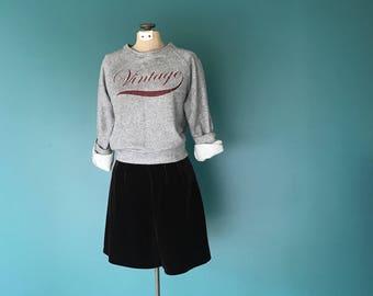 Vintage Velvet Shorts. High Waisted Shorts. Stretch Velvet Shorts. 1980s High Waist. Vintage Brown Shorts. High Waist Shorts