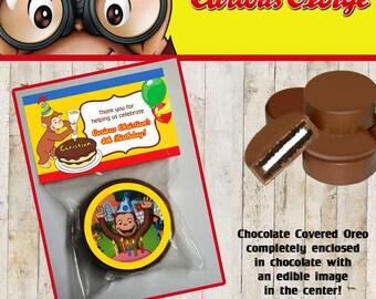 Curious George Chocolate Covered Oreo
