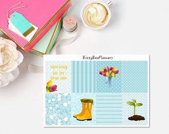 Spring Is In The Air  Fullboxes-ECLP-Happy Planner