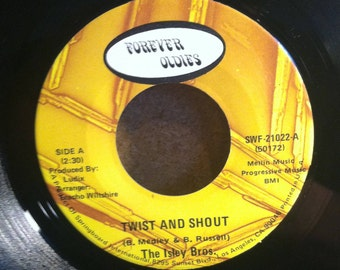 The Isley Brothers Twist And Shout b/w Wa Watusi Vinyl Soul 45 rpm Record