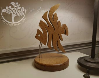 Wooden  Fish statue