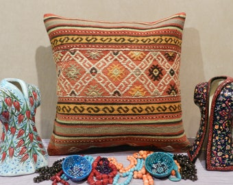 pillow covers,pillows,home decor pillow,kilim pillow,wool pillow,decorativepillow,kilim pillow covers,handmade pillow,20x20inch,50x50cm