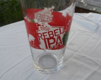 CLEARANCE Samuel Adams Rebel IPA Beer Glass    1447