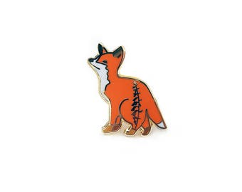 Young Fox Pin