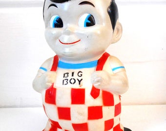 Vintage Big Boy Coin Bank