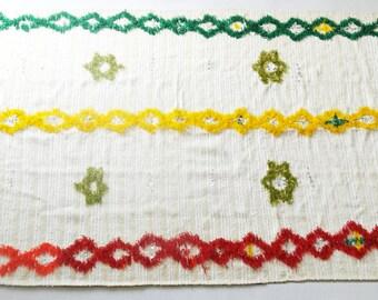 Large Moroccan Handira or rug