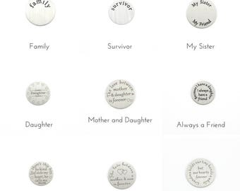Family and Friends Plates, Mother and Daughter, Mother and Son, Nana Blessings, Grandma Necklace, Family Jewellery, Survivor Necklace