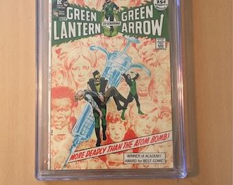 Green Lantern (1960-1988 1st Series DC) #86 CGC 6.5