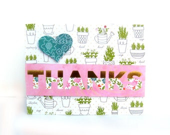 thank you card, thank you cards, card to say thanks, card of gratitude, gratitude card, wedding thank you cards, wedding thank you,  cards