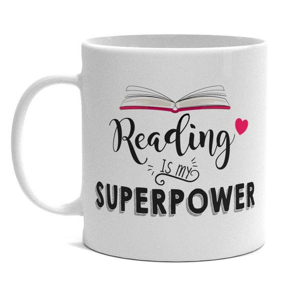 mug with text reading is my super power