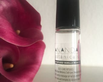 VANILLA AROMATHERAPY| Vanilla Essential Oil| Anti Anxiety/Self Care Gift/Vanilla Perfume/Stress Relief Gift/Vanilla Infused Oil