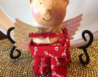 Vintage Inspired Cupid Knee Hugger Doll