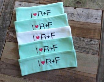 I Heart Rodan Fields Headband- R+F Customer and Consultant Gifts- Personalized Headband