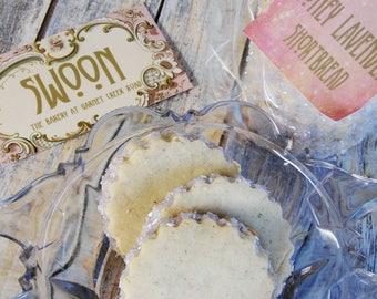 Honey Lavender Shortbread Cookie Gift Box ~ Wedding Cookies ~ Wedding Favors