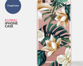 floral iPhone 7 case, iPhone 6 case floral, floral iPhone Case, floral iPhone 7 plus Case, floral iPhone 6 and 7 Plus Case (Shipped From UK)