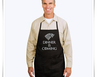 Dinner Is Coming. Game of Thrones. Serving Apron