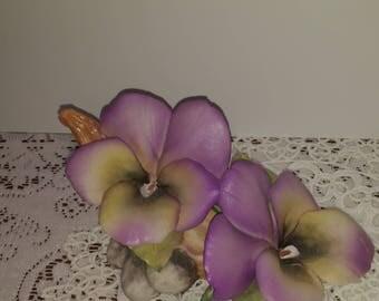 Porcelain Pansy Flower