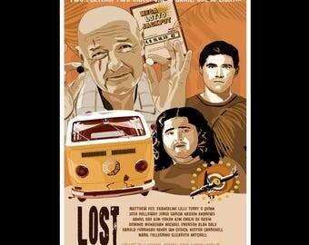 LOST - Original Art Poster