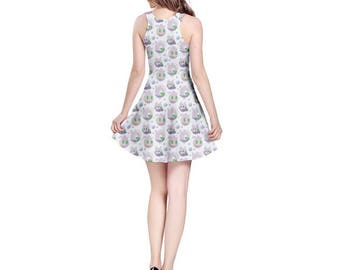 Goomy Dress - Pokemon Dress Skater Dress Cosplay Dress Comicon Dress Sliggoo Dress Goodra Dress Dragon Pokemon Evolutions Pastel Dress