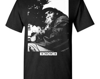 Snoop Dogg,1993,Weed Smoke and Gun, Hip Hop Gangsta Rap G-Funk ,v4,  shirt Tee T-shirt  S - 5XL