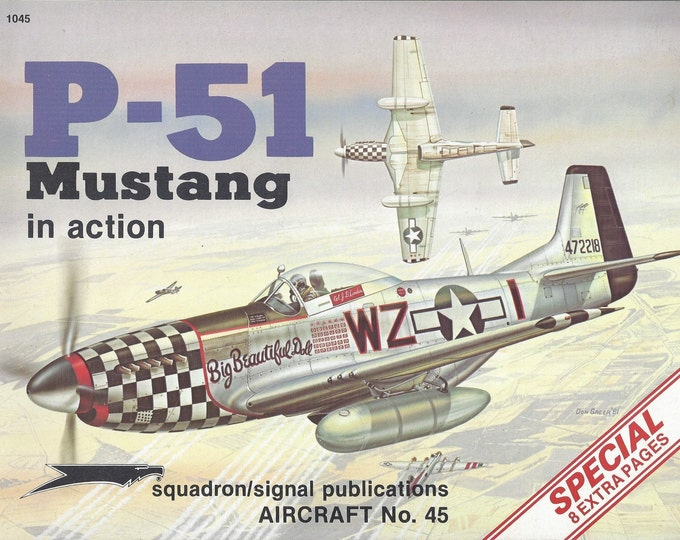 P-51 Mustang in action - Aircraft No. 45 (Paperback)